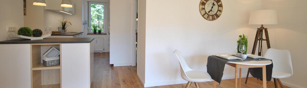 Home Staging Umsetzung Esszimmer