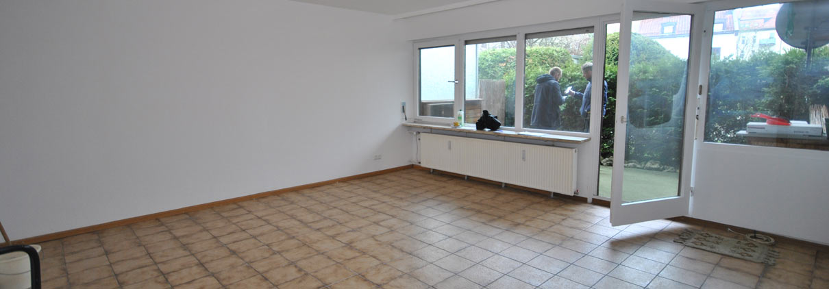 Wohnzimmer vor Flix & Flip
