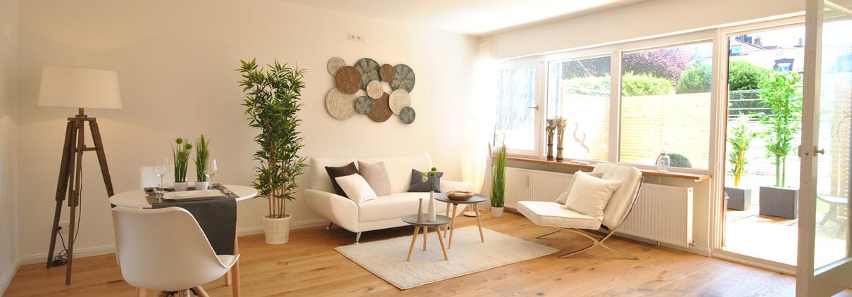 Wohnzimmer nach Flix & Flip