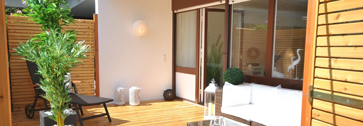 Terrasse nach Fix & Flip