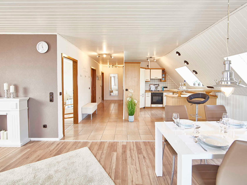 Bewohnte Immobilie nach ADDA Home Staging