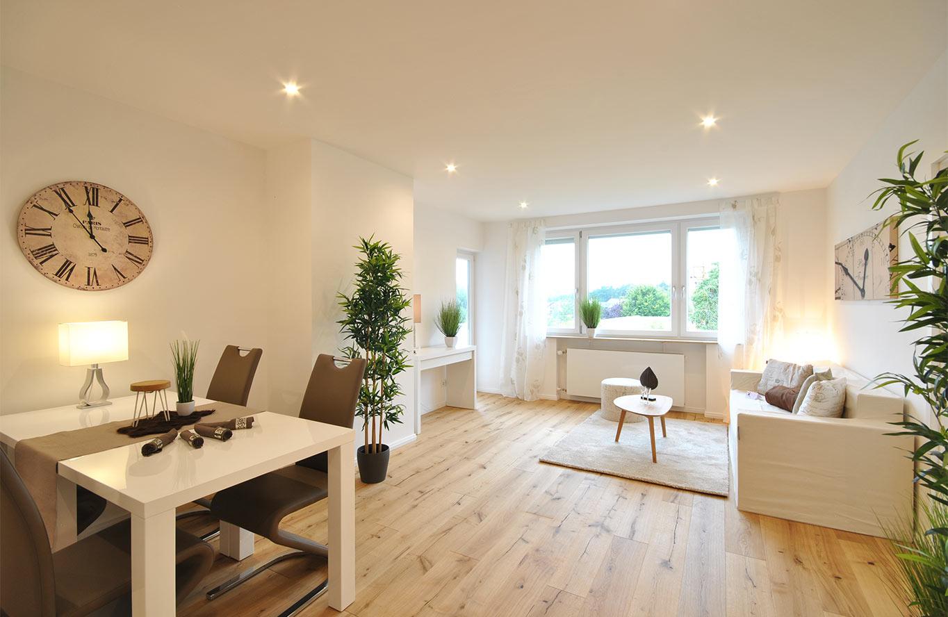 Birgit Höss - Homestaging Wohnzimmer