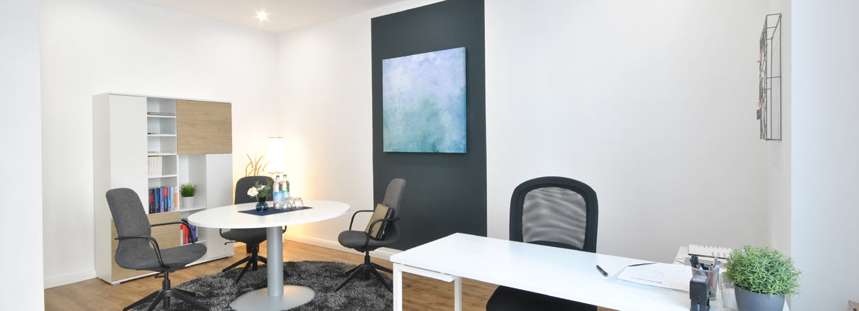 Büroraum nach Home Staging