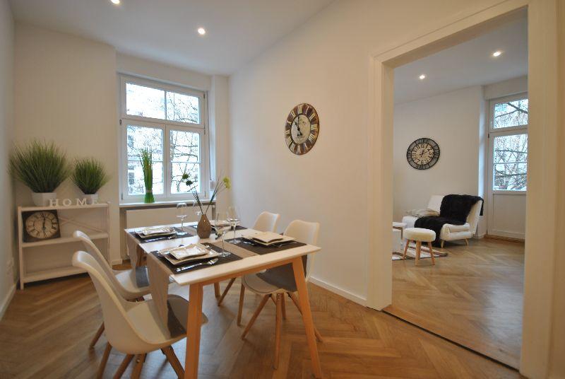 Esszimmer   Wohnzimmer Nach ADDA Homestaging