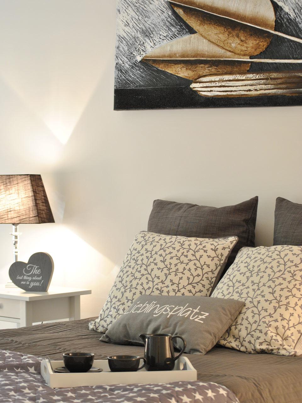 Farbkonzept Eine einheitliche Farbharmonie verbindet alle Räume.