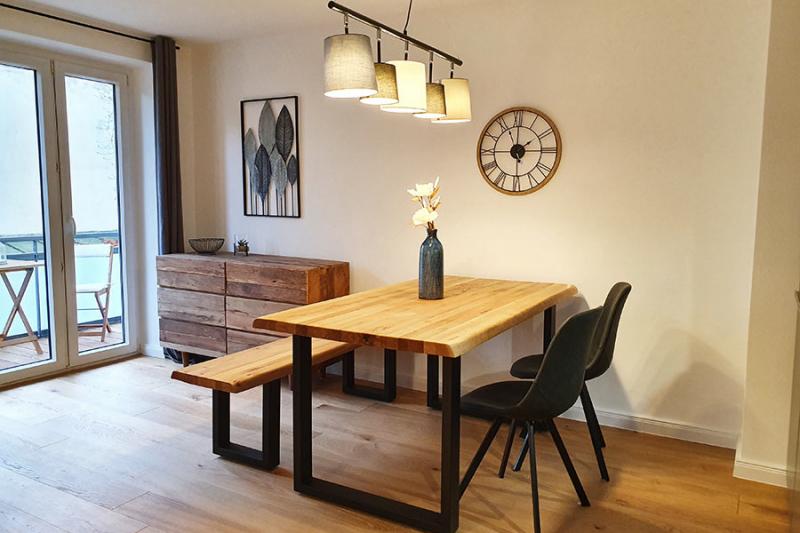 Home Staging Feste Einrichtung - Esszimmer