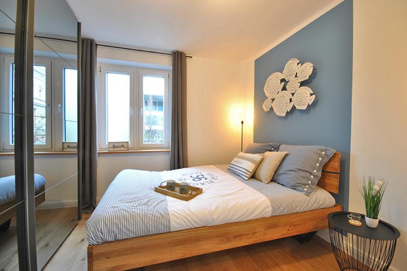 Home Staging Feste Einrichtung - Schlafzimmer