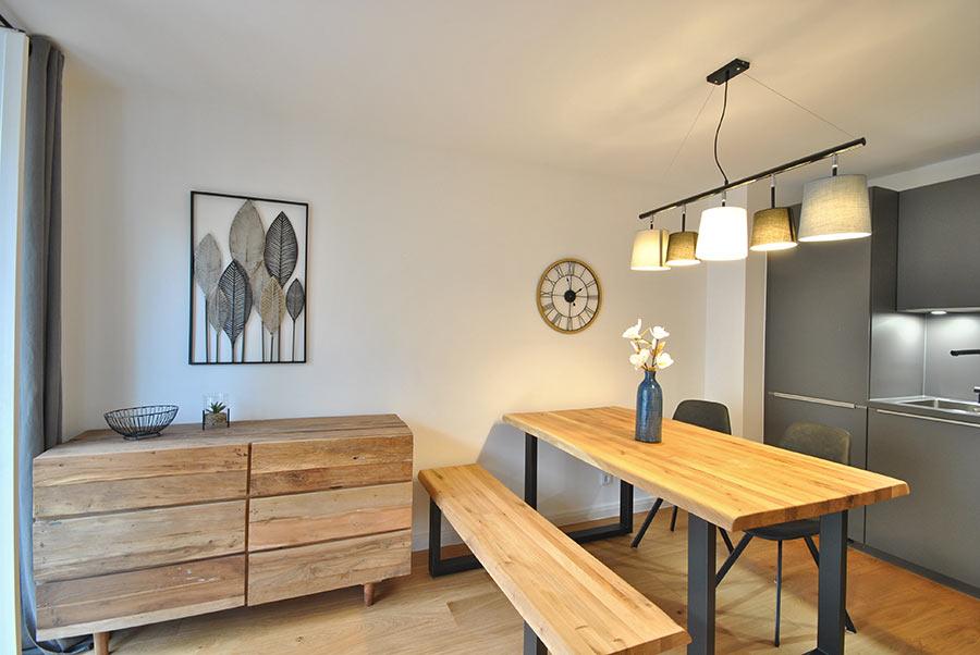 Home Staging Feste Einrichtung - Wohn-/Esszimmer