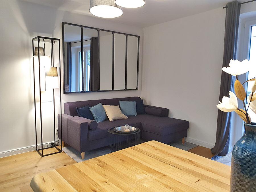 Home Staging Feste Einrichtung - Wohnbereich