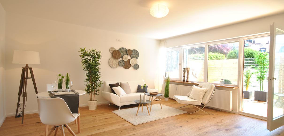 Home Staging für Fix & Flip - nachher