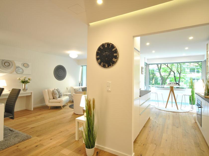 Home Staging für Musterwohnung