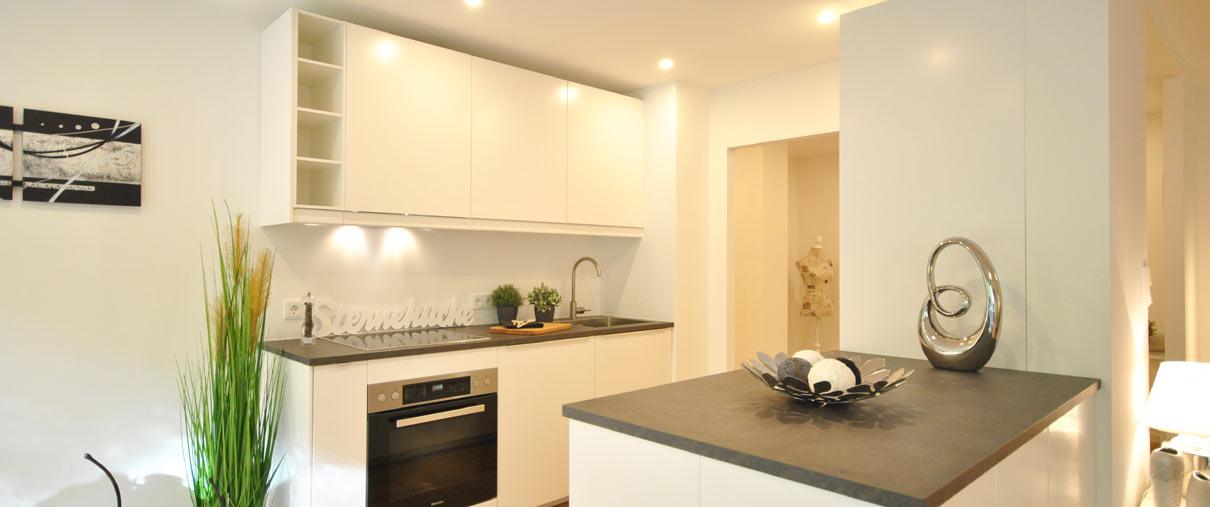 Küche für Musterwohnungen