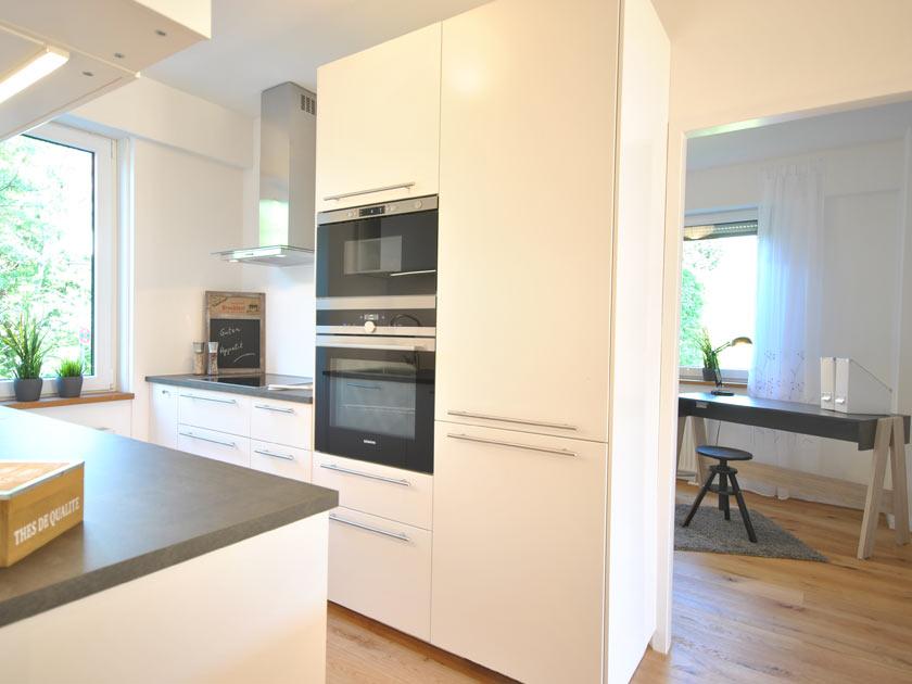 Küche und Büro nach ADDA Home Staging