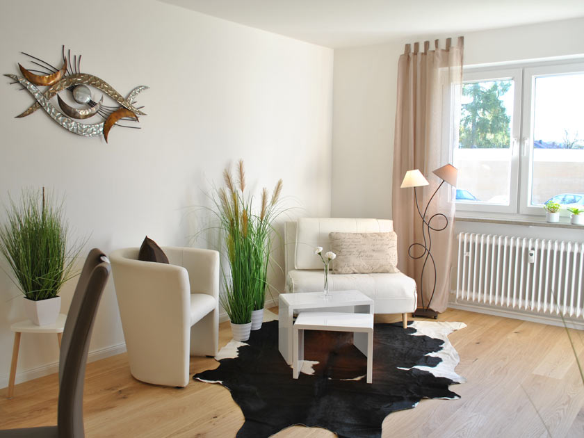 Leere Immobilie nach ADDA Home Staging