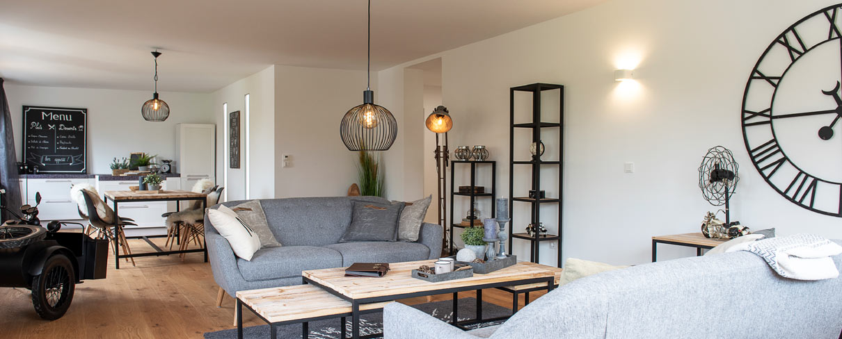 Leere Immobilie nach Home Staging