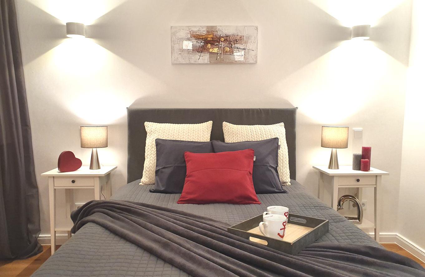 Linz Home Staging - Schlafzimmer