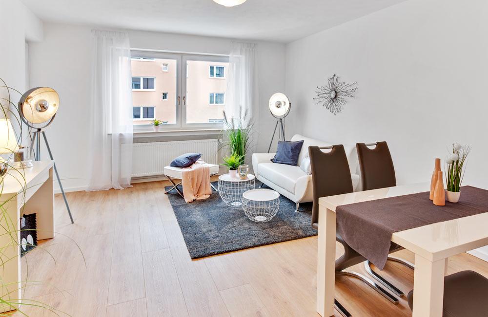Natalia Guerrero - Home Staging Wohnzimmer