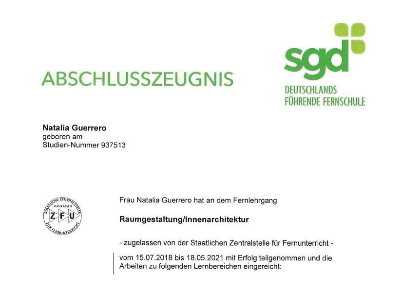 sgd-Zertifikat