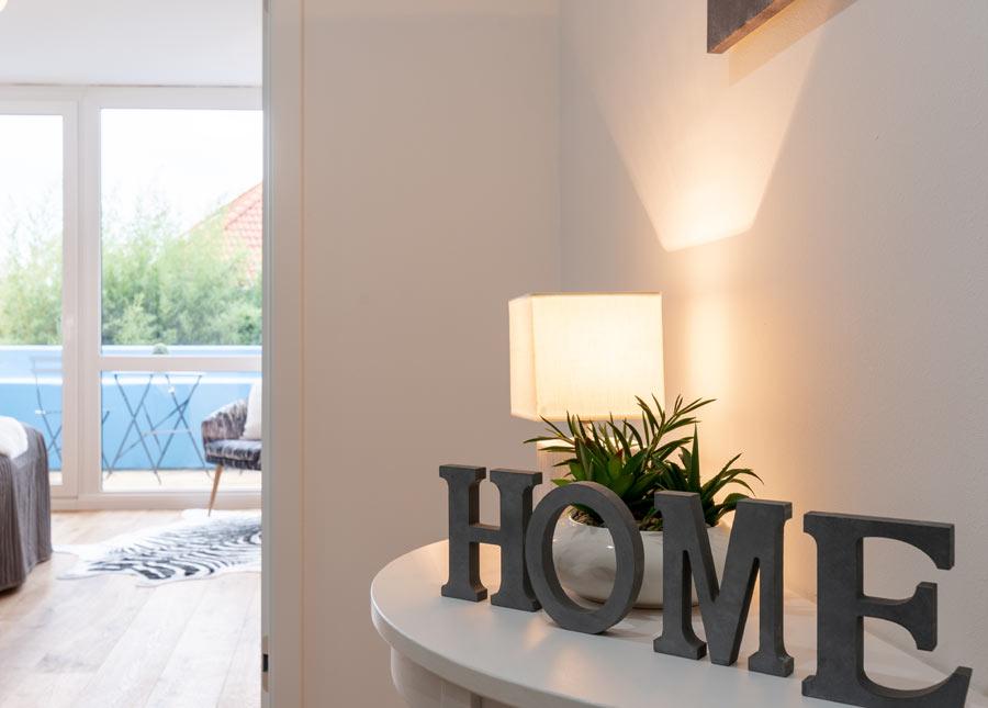 Sabine Sauer - Home Staging Schlafzimmer