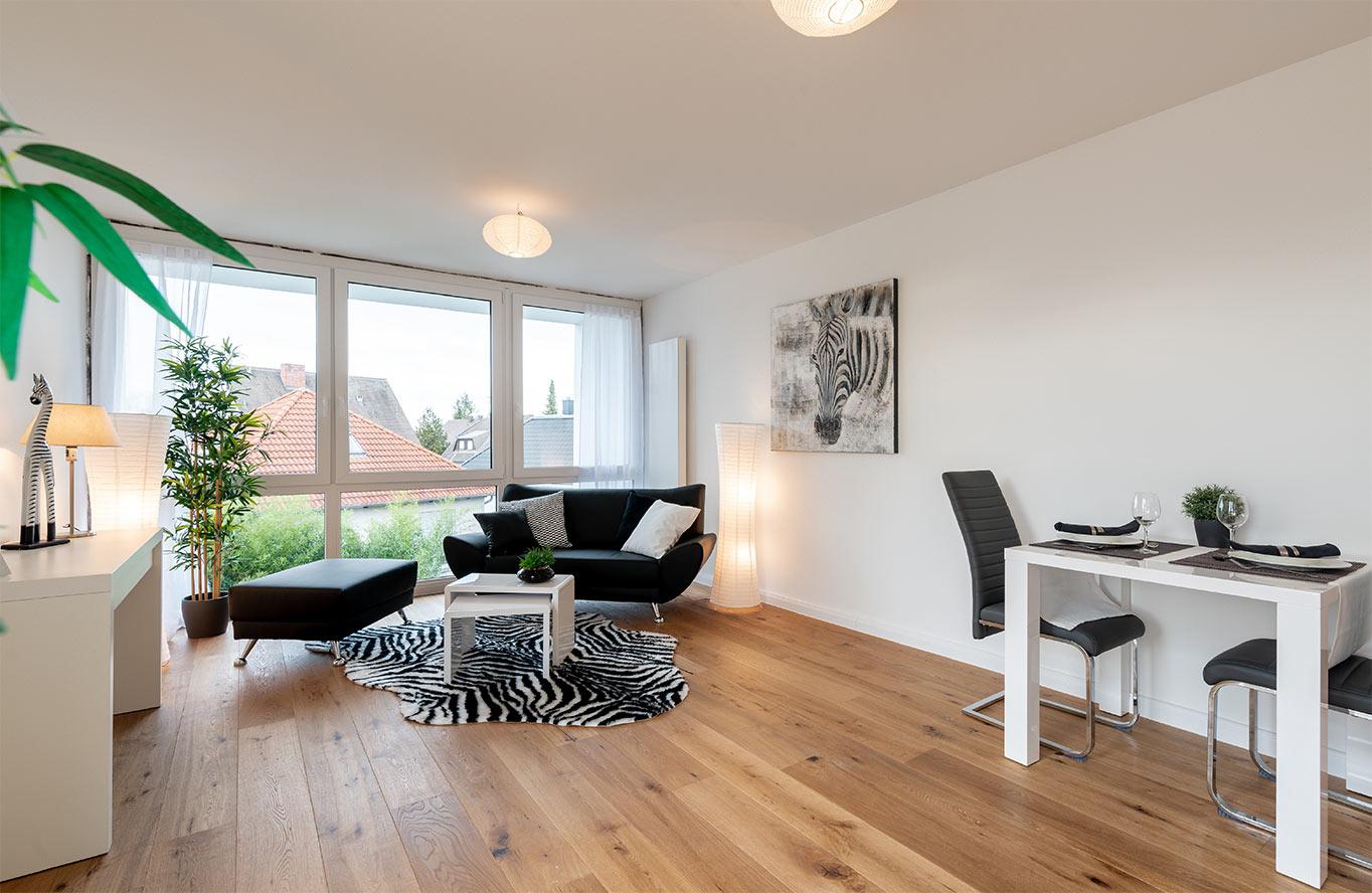 Sabine Sauer - Home Staging Wohnzimmer