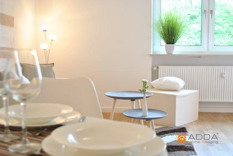 Home Staging zeigt Größe und Nutzen der Räume