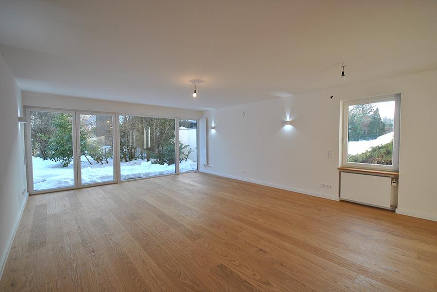 Wohnzimmer vor Homestaging