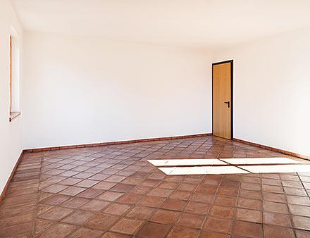 Eigentümer einer leeren Immobilie