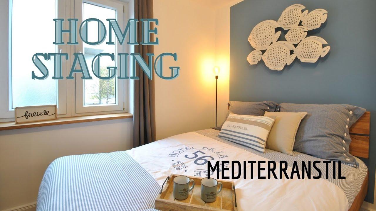 Feste Einrichtung für eine 3-Zimmer Wohnung im Mediterranstil, München